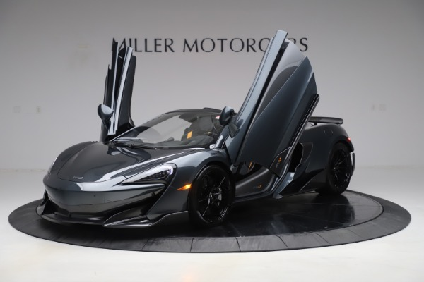 New 2020 McLaren 600LT SPIDER Convertible for sale Sold at Alfa Romeo of Greenwich in Greenwich CT 06830 13