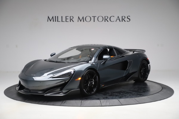 Used 2020 McLaren 600LT SPIDER Convertible for sale $249,900 at Alfa Romeo of Greenwich in Greenwich CT 06830 14