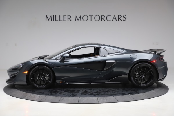 Used 2020 McLaren 600LT SPIDER Convertible for sale $249,900 at Alfa Romeo of Greenwich in Greenwich CT 06830 15