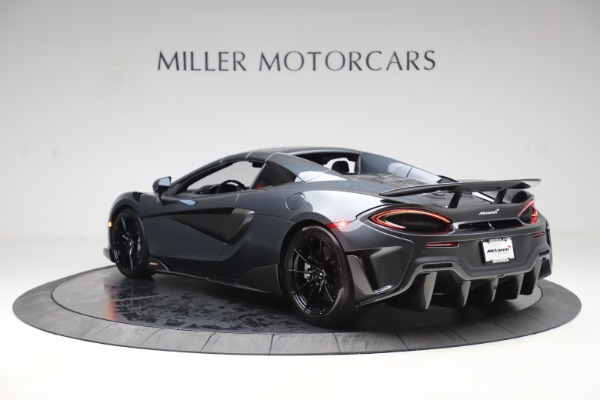 Used 2020 McLaren 600LT SPIDER Convertible for sale $249,900 at Alfa Romeo of Greenwich in Greenwich CT 06830 16