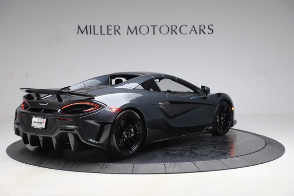 Used 2020 McLaren 600LT SPIDER Convertible for sale $249,900 at Alfa Romeo of Greenwich in Greenwich CT 06830 18