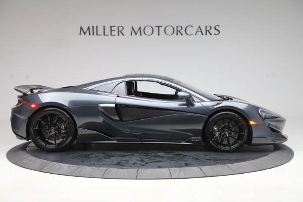 Used 2020 McLaren 600LT SPIDER Convertible for sale $249,900 at Alfa Romeo of Greenwich in Greenwich CT 06830 19