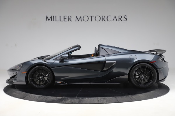 Used 2020 McLaren 600LT SPIDER Convertible for sale $249,900 at Alfa Romeo of Greenwich in Greenwich CT 06830 2