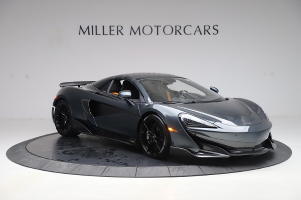 Used 2020 McLaren 600LT SPIDER Convertible for sale $249,900 at Alfa Romeo of Greenwich in Greenwich CT 06830 20