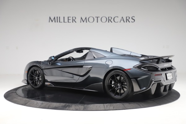 Used 2020 McLaren 600LT SPIDER Convertible for sale $249,900 at Alfa Romeo of Greenwich in Greenwich CT 06830 3