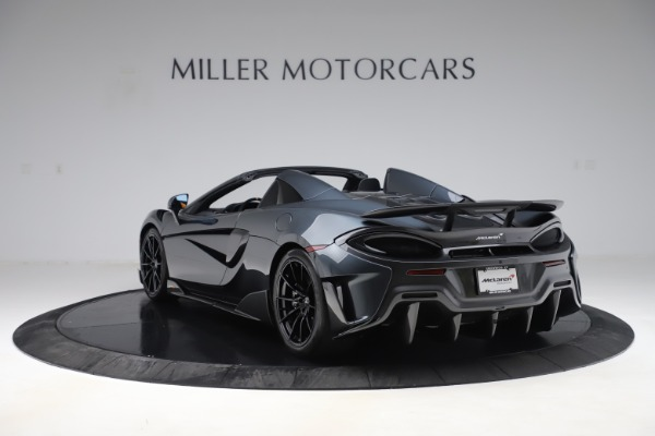 Used 2020 McLaren 600LT SPIDER Convertible for sale $249,900 at Alfa Romeo of Greenwich in Greenwich CT 06830 4