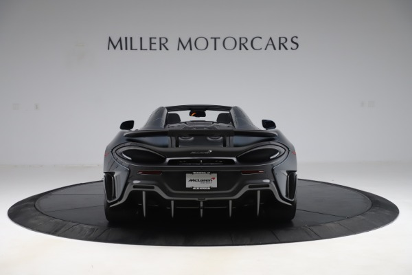 New 2020 McLaren 600LT SPIDER Convertible for sale Sold at Alfa Romeo of Greenwich in Greenwich CT 06830 5
