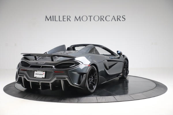 Used 2020 McLaren 600LT SPIDER Convertible for sale $249,900 at Alfa Romeo of Greenwich in Greenwich CT 06830 6