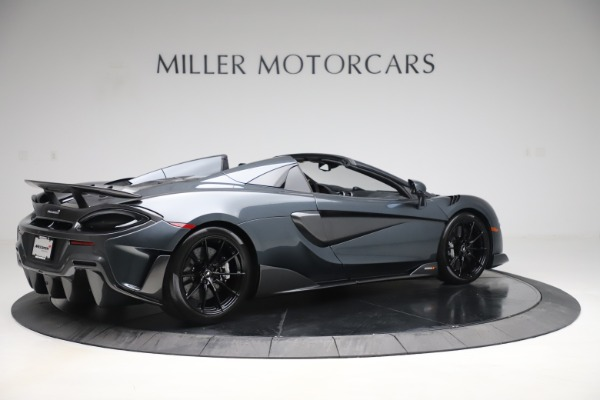 Used 2020 McLaren 600LT SPIDER Convertible for sale $249,900 at Alfa Romeo of Greenwich in Greenwich CT 06830 7