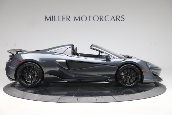 Used 2020 McLaren 600LT SPIDER Convertible for sale $249,900 at Alfa Romeo of Greenwich in Greenwich CT 06830 8