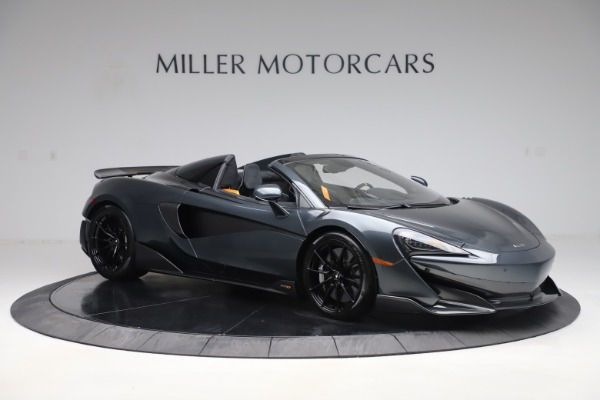 Used 2020 McLaren 600LT SPIDER Convertible for sale $249,900 at Alfa Romeo of Greenwich in Greenwich CT 06830 9