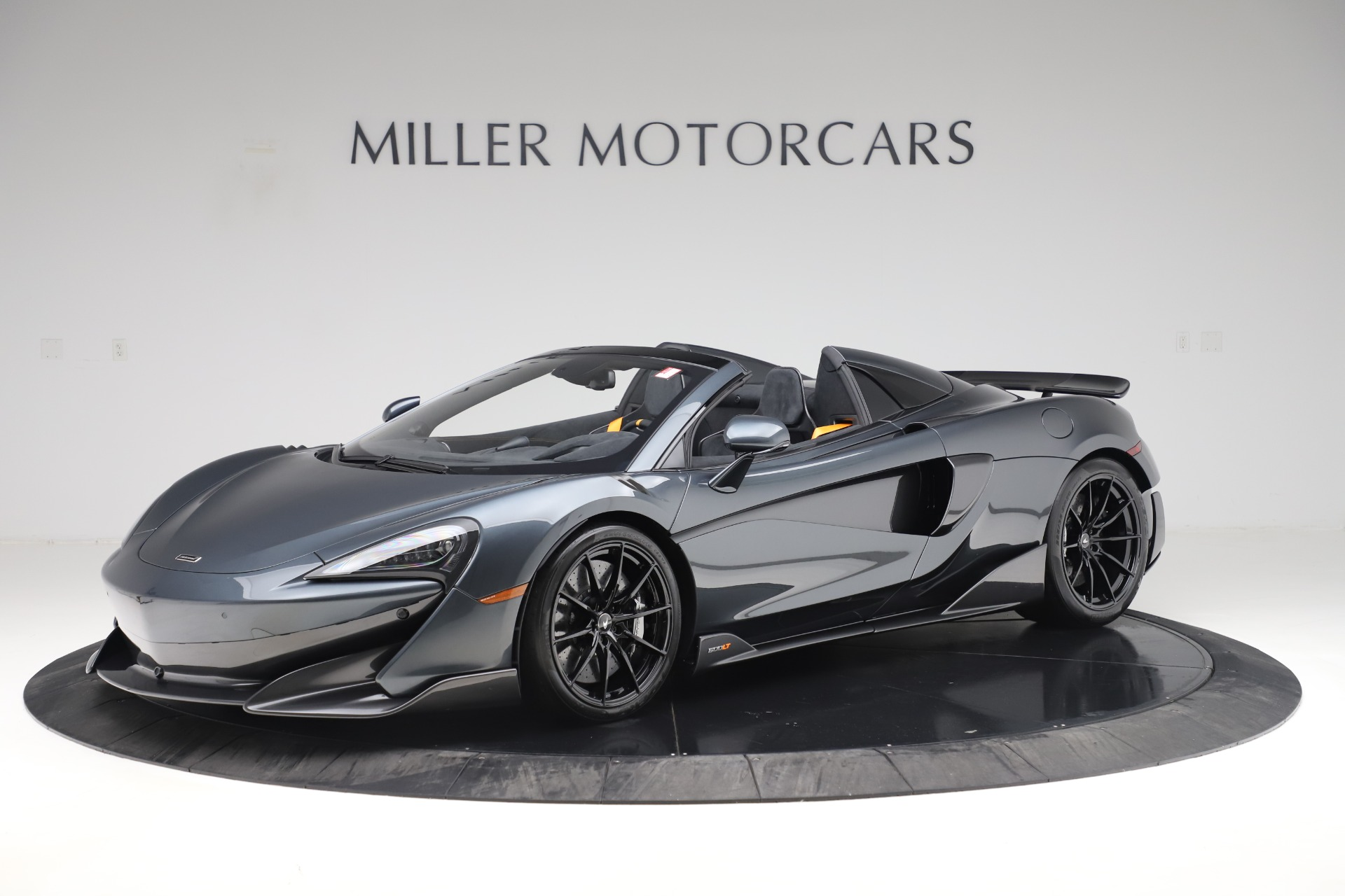 Used 2020 McLaren 600LT SPIDER Convertible for sale $249,900 at Alfa Romeo of Greenwich in Greenwich CT 06830 1