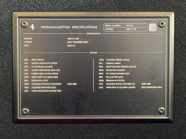 Used 2017 Ferrari 488 GTB Base for sale Sold at Alfa Romeo of Greenwich in Greenwich CT 06830 20