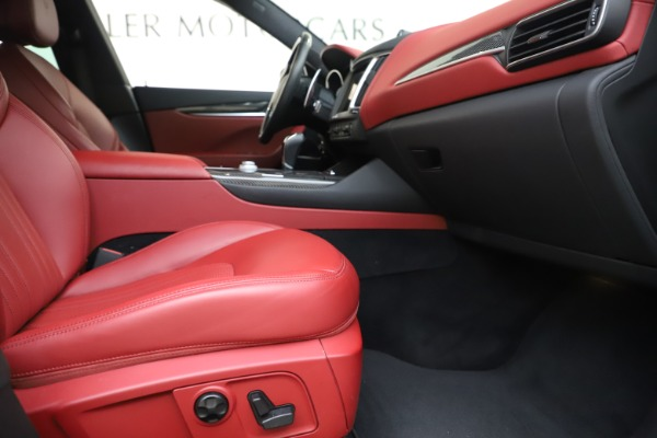 Used 2017 Maserati Levante S for sale Sold at Alfa Romeo of Greenwich in Greenwich CT 06830 23