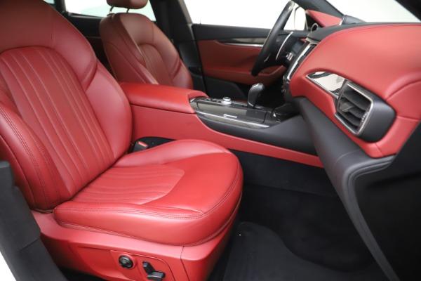 Used 2017 Maserati Levante S for sale Sold at Alfa Romeo of Greenwich in Greenwich CT 06830 24