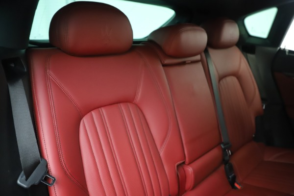Used 2017 Maserati Levante S for sale Sold at Alfa Romeo of Greenwich in Greenwich CT 06830 26