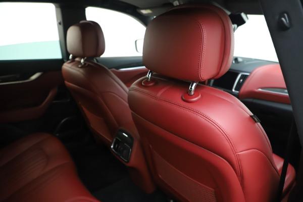 Used 2017 Maserati Levante S for sale Sold at Alfa Romeo of Greenwich in Greenwich CT 06830 28