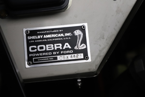 Used 1965 Ford Cobra CSX for sale Sold at Alfa Romeo of Greenwich in Greenwich CT 06830 14