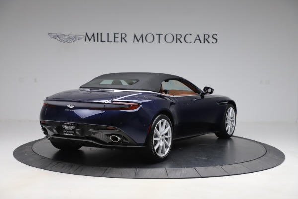 New 2020 Aston Martin DB11 Volante Convertible for sale Sold at Alfa Romeo of Greenwich in Greenwich CT 06830 18