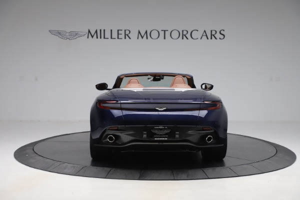 New 2020 Aston Martin DB11 Volante Convertible for sale Sold at Alfa Romeo of Greenwich in Greenwich CT 06830 6
