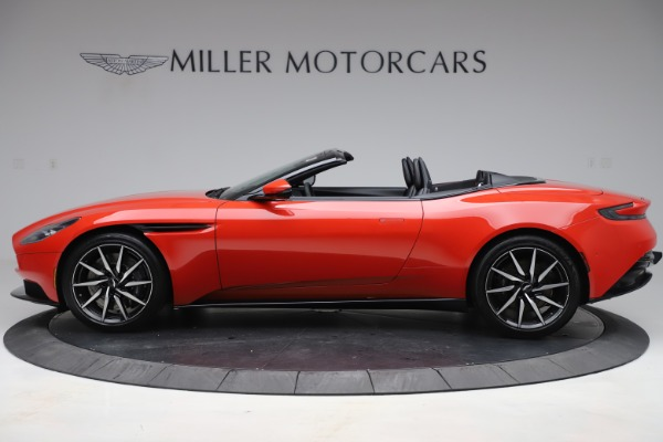 New 2020 Aston Martin DB11 Volante Convertible for sale $254,531 at Alfa Romeo of Greenwich in Greenwich CT 06830 2