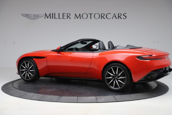New 2020 Aston Martin DB11 Volante Convertible for sale $254,531 at Alfa Romeo of Greenwich in Greenwich CT 06830 3