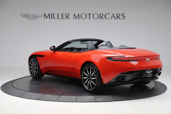 New 2020 Aston Martin DB11 Volante Convertible for sale $254,531 at Alfa Romeo of Greenwich in Greenwich CT 06830 4