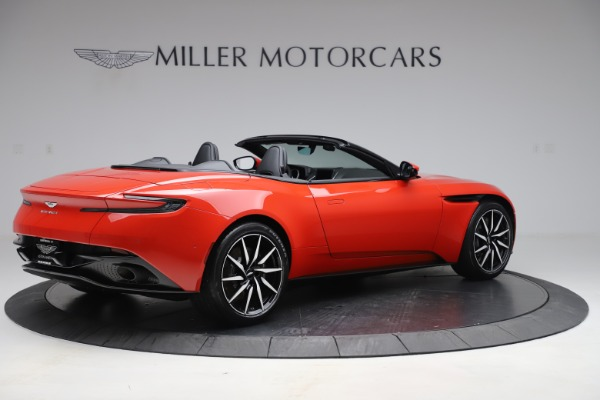 New 2020 Aston Martin DB11 Volante Convertible for sale $254,531 at Alfa Romeo of Greenwich in Greenwich CT 06830 7