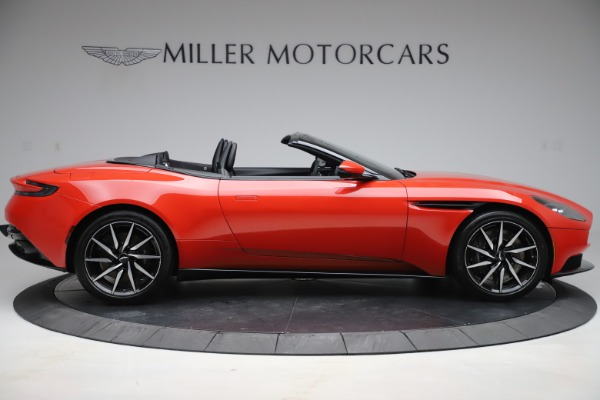 New 2020 Aston Martin DB11 Volante Convertible for sale $254,531 at Alfa Romeo of Greenwich in Greenwich CT 06830 8