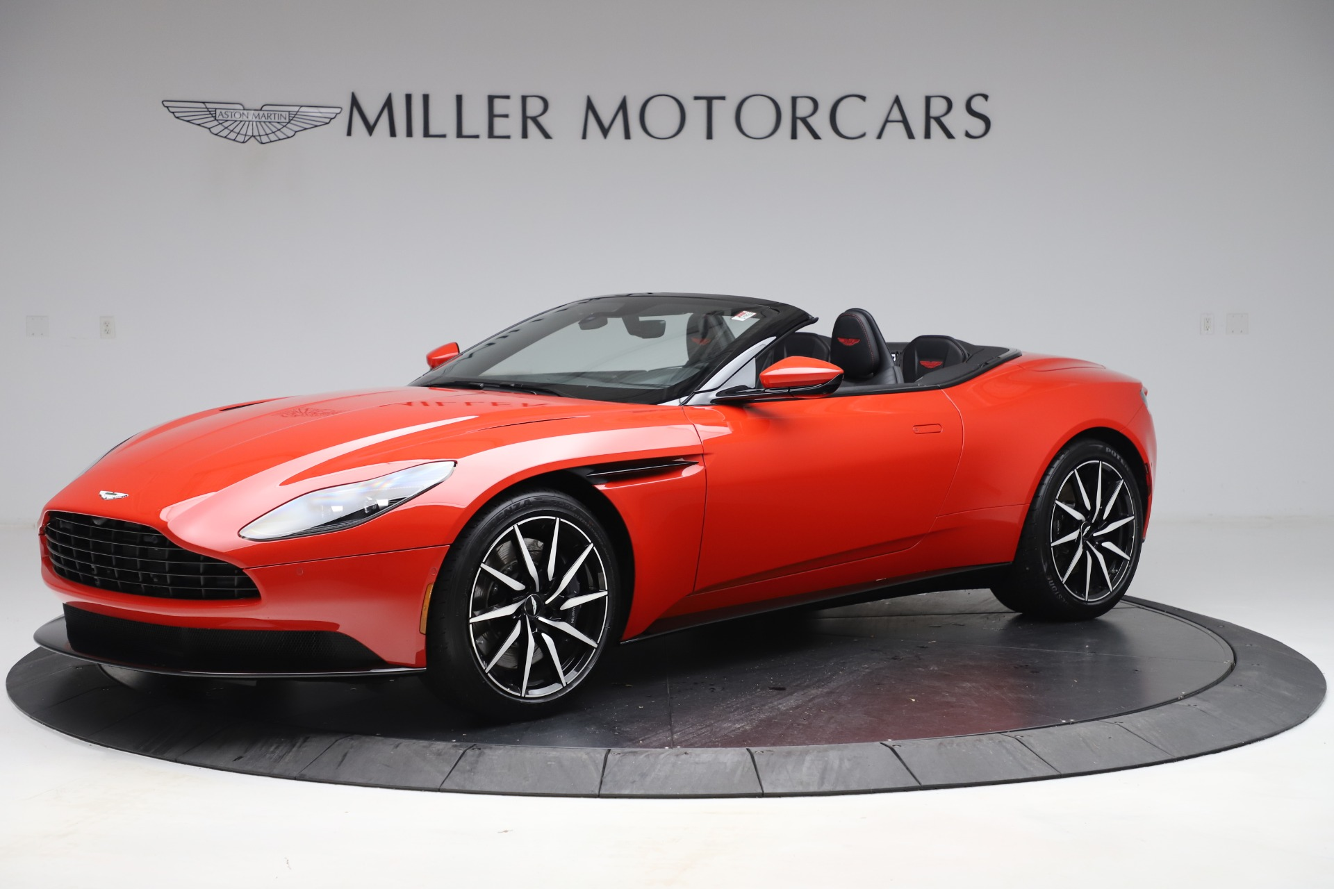 New 2020 Aston Martin DB11 Volante Convertible for sale $254,531 at Alfa Romeo of Greenwich in Greenwich CT 06830 1