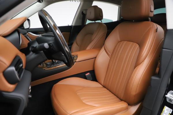 New 2019 Maserati Levante Q4 GranLusso for sale $89,550 at Alfa Romeo of Greenwich in Greenwich CT 06830 13