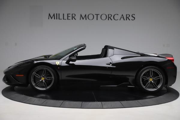Used 2015 Ferrari 458 Speciale Aperta for sale $635,900 at Alfa Romeo of Greenwich in Greenwich CT 06830 3