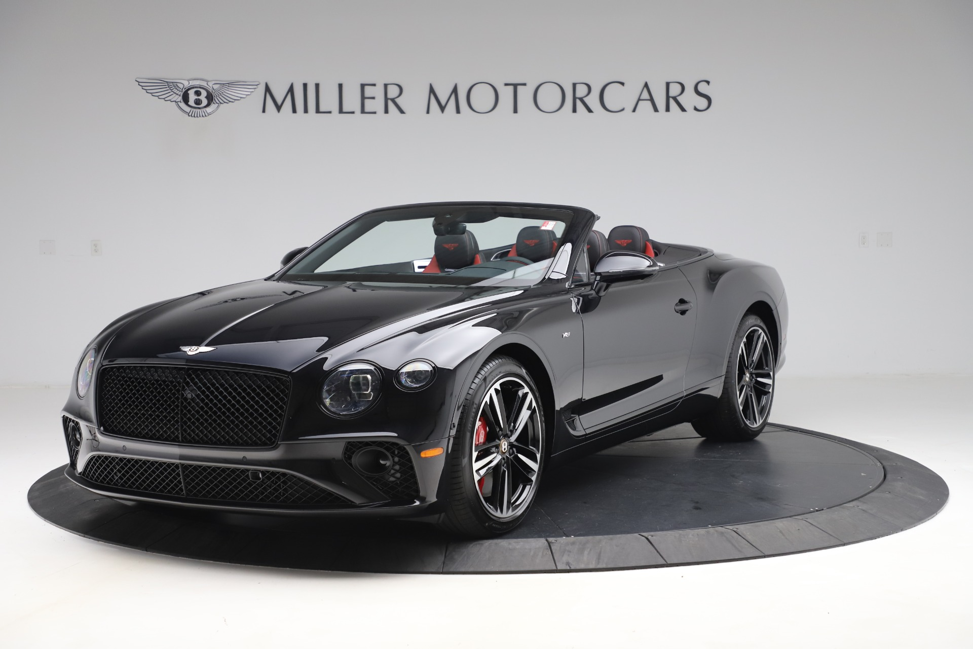 New 2020 Bentley Continental GTC V8 for sale Sold at Alfa Romeo of Greenwich in Greenwich CT 06830 1