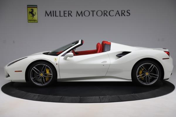 Used 2018 Ferrari 488 Spider for sale Sold at Alfa Romeo of Greenwich in Greenwich CT 06830 3