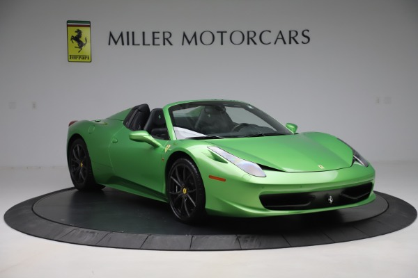 Used 2015 Ferrari 458 Spider for sale Sold at Alfa Romeo of Greenwich in Greenwich CT 06830 11
