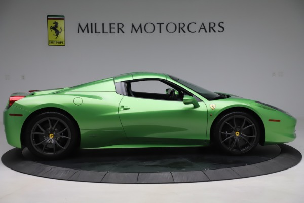 Used 2015 Ferrari 458 Spider for sale Sold at Alfa Romeo of Greenwich in Greenwich CT 06830 17