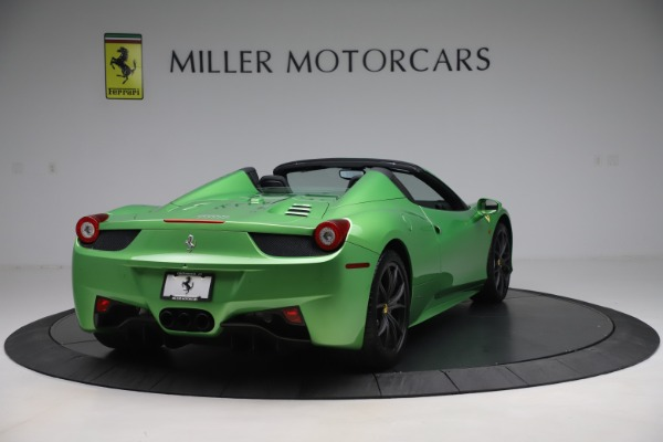 Used 2015 Ferrari 458 Spider for sale Sold at Alfa Romeo of Greenwich in Greenwich CT 06830 7