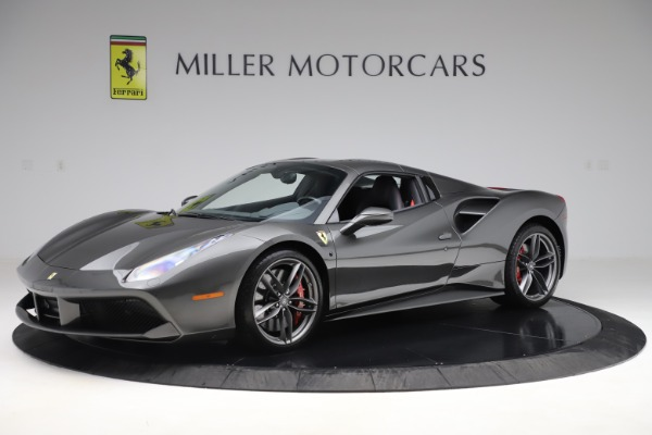 Used 2018 Ferrari 488 Spider for sale Sold at Alfa Romeo of Greenwich in Greenwich CT 06830 13