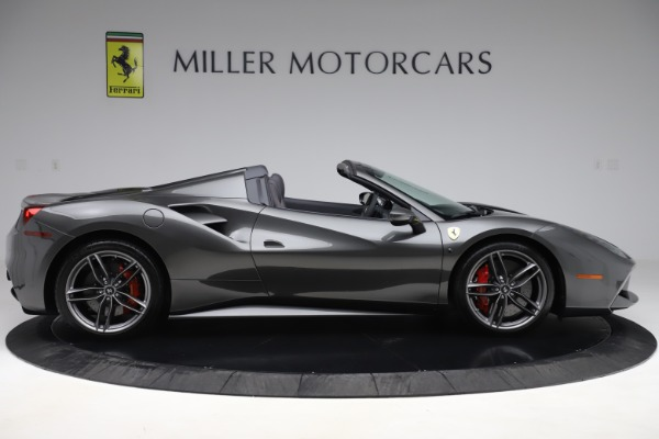 Used 2018 Ferrari 488 Spider for sale Sold at Alfa Romeo of Greenwich in Greenwich CT 06830 9