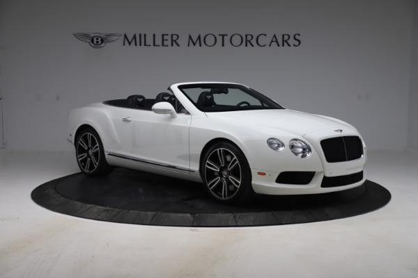 Used 2015 Bentley Continental GTC V8 for sale Sold at Alfa Romeo of Greenwich in Greenwich CT 06830 11