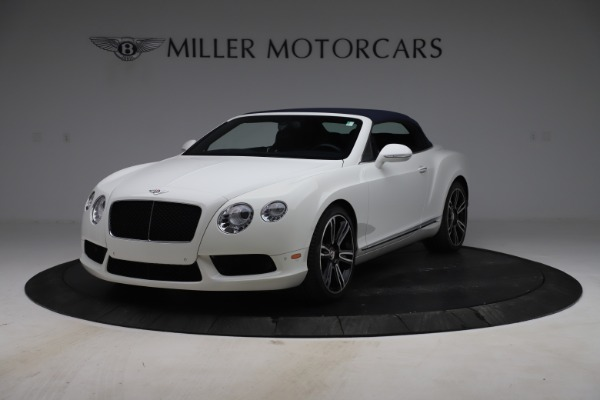 Used 2015 Bentley Continental GTC V8 for sale Sold at Alfa Romeo of Greenwich in Greenwich CT 06830 13