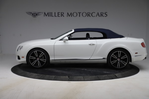 Used 2015 Bentley Continental GTC V8 for sale Sold at Alfa Romeo of Greenwich in Greenwich CT 06830 14