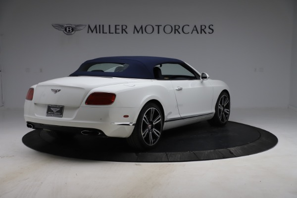 Used 2015 Bentley Continental GTC V8 for sale Sold at Alfa Romeo of Greenwich in Greenwich CT 06830 17