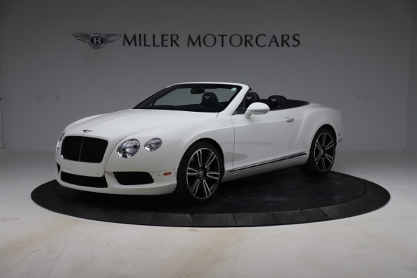 Used 2015 Bentley Continental GTC V8 for sale Sold at Alfa Romeo of Greenwich in Greenwich CT 06830 2