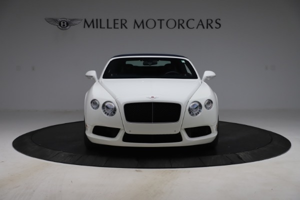 Used 2015 Bentley Continental GTC V8 for sale Sold at Alfa Romeo of Greenwich in Greenwich CT 06830 20