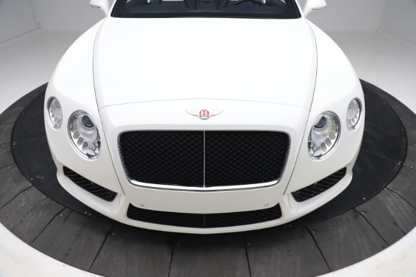 Used 2015 Bentley Continental GTC V8 for sale Sold at Alfa Romeo of Greenwich in Greenwich CT 06830 21