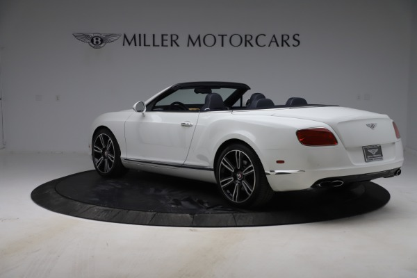 Used 2015 Bentley Continental GTC V8 for sale Sold at Alfa Romeo of Greenwich in Greenwich CT 06830 5