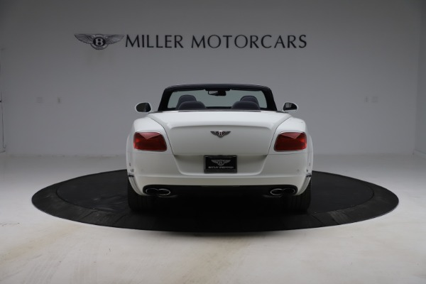 Used 2015 Bentley Continental GTC V8 for sale Sold at Alfa Romeo of Greenwich in Greenwich CT 06830 6