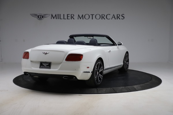 Used 2015 Bentley Continental GTC V8 for sale Sold at Alfa Romeo of Greenwich in Greenwich CT 06830 7