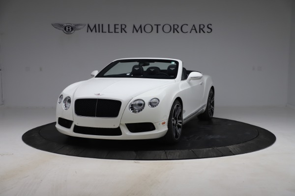 Used 2015 Bentley Continental GTC V8 for sale Sold at Alfa Romeo of Greenwich in Greenwich CT 06830 1